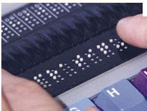 teclado ciegos iteracción persona ordenador